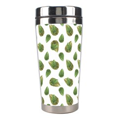 Leaves Motif Nature Pattern Stainless Steel Travel Tumblers