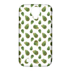 Leaves Motif Nature Pattern Samsung Galaxy S4 Classic Hardshell Case (PC+Silicone)
