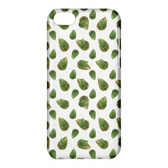 Leaves Motif Nature Pattern Apple iPhone 5C Hardshell Case