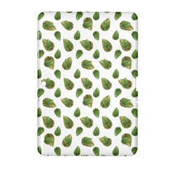 Leaves Motif Nature Pattern Samsung Galaxy Tab 2 (10.1 ) P5100 Hardshell Case