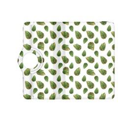 Leaves Motif Nature Pattern Kindle Fire HDX 8.9  Flip 360 Case