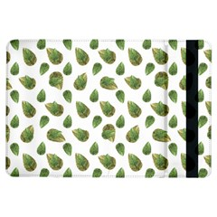 Leaves Motif Nature Pattern iPad Air Flip