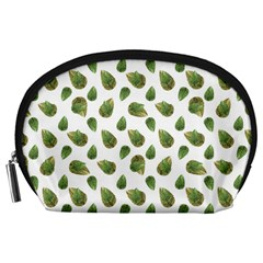 Leaves Motif Nature Pattern Accessory Pouches (Large)