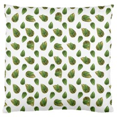 Leaves Motif Nature Pattern Standard Flano Cushion Case (One Side)