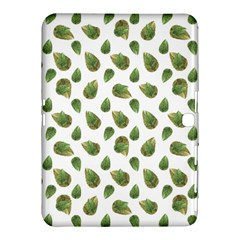 Leaves Motif Nature Pattern Samsung Galaxy Tab 4 (10.1 ) Hardshell Case
