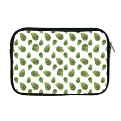 Leaves Motif Nature Pattern Apple MacBook Pro 17  Zipper Case