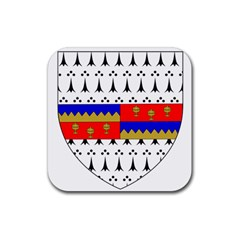 County Tipperary Coat of Arms  Rubber Square Coaster (4 pack)