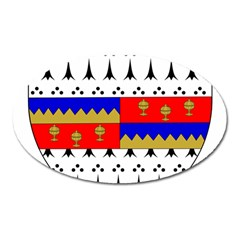 County Tipperary Coat of Arms  Oval Magnet