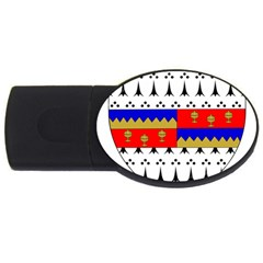 County Tipperary Coat of Arms  USB Flash Drive Oval (2 GB)