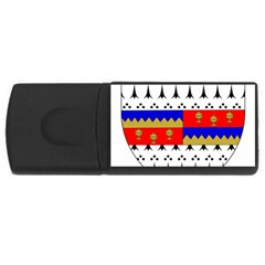 County Tipperary Coat of Arms  USB Flash Drive Rectangular (1 GB)