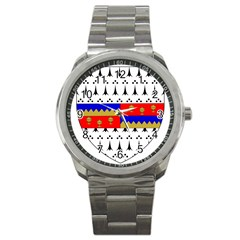 County Tipperary Coat of Arms  Sport Metal Watch