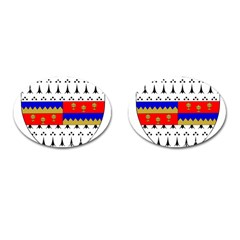 County Tipperary Coat of Arms  Cufflinks (Oval)