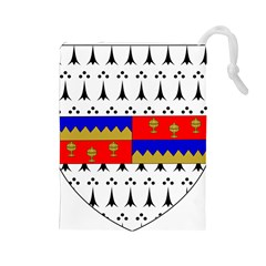 County Tipperary Coat of Arms  Drawstring Pouches (Large)