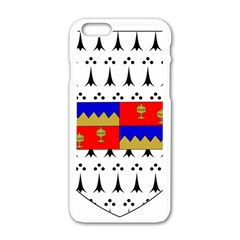 County Tipperary Coat of Arms  Apple iPhone 6/6S White Enamel Case