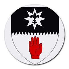 County Tyrone Coat of Arms  Round Mousepads