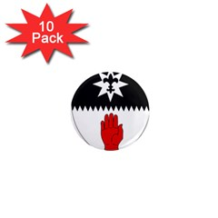 County Tyrone Coat of Arms  1  Mini Magnet (10 pack)