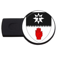 County Tyrone Coat of Arms  USB Flash Drive Round (4 GB)