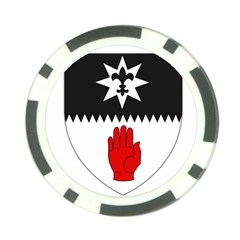 County Tyrone Coat of Arms  Poker Chip Card Guard