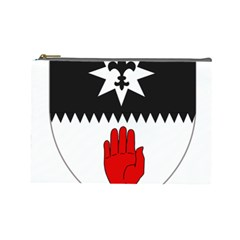 County Tyrone Coat of Arms  Cosmetic Bag (Large)