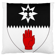 County Tyrone Coat of Arms  Large Cushion Case (One Side)