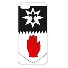 County Tyrone Coat of Arms  Apple iPhone 5 Seamless Case (White)