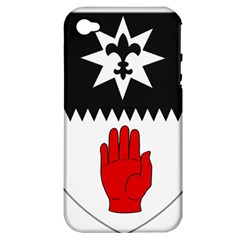County Tyrone Coat of Arms  Apple iPhone 4/4S Hardshell Case (PC+Silicone)
