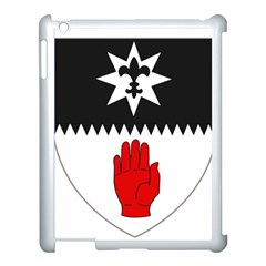 County Tyrone Coat of Arms  Apple iPad 3/4 Case (White)