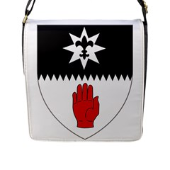 County Tyrone Coat of Arms  Flap Messenger Bag (L)