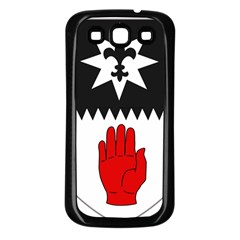 County Tyrone Coat Of Arms  Samsung Galaxy S3 Back Case (black)