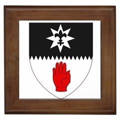 County Tyrone Coat of Arms  Framed Tiles