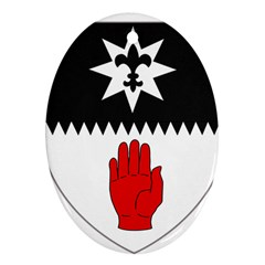 County Tyrone Coat of Arms  Ornament (Oval)
