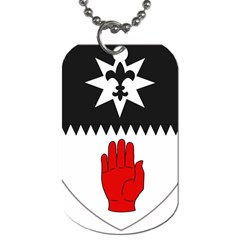 County Tyrone Coat of Arms  Dog Tag (Two Sides)