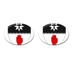County Tyrone Coat of Arms  Cufflinks (Oval)