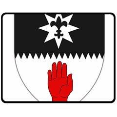 County Tyrone Coat of Arms  Fleece Blanket (Medium)