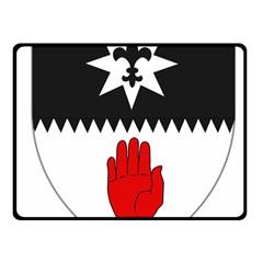 County Tyrone Coat of Arms  Fleece Blanket (Small)