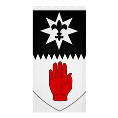 County Tyrone Coat of Arms  Shower Curtain 36  x 72  (Stall)