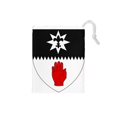 County Tyrone Coat of Arms  Drawstring Pouches (Small)
