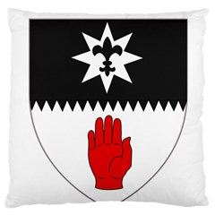 County Tyrone Coat of Arms  Large Flano Cushion Case (Two Sides)
