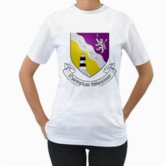 County Wexford Coat of Arms  Women s T-Shirt (White) (Two Sided)