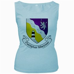 County Wexford Coat of Arms  Women s Baby Blue Tank Top