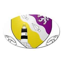 County Wexford Coat of Arms  Oval Magnet