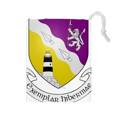 County Wexford Coat of Arms  Drawstring Pouches (Large)