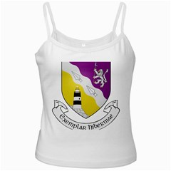 County Wexford Coat of Arms  White Spaghetti Tank