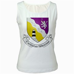 County Wexford Coat of Arms  Women s White Tank Top