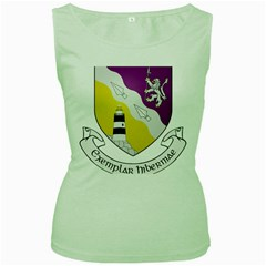 County Wexford Coat of Arms  Women s Green Tank Top