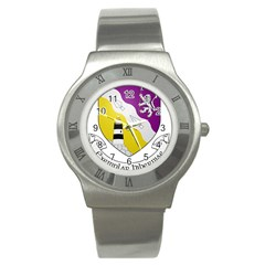 County Wexford Coat of Arms  Stainless Steel Watch