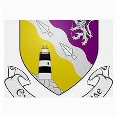 County Wexford Coat of Arms  Large Glasses Cloth