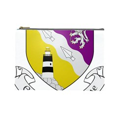 County Wexford Coat of Arms  Cosmetic Bag (Large)