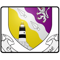 County Wexford Coat of Arms  Fleece Blanket (Medium)