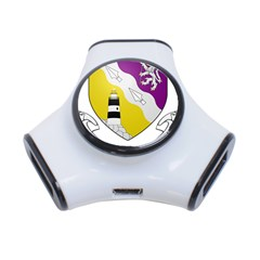 County Wexford Coat of Arms  3-Port USB Hub